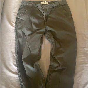 H&M army green khakis. Size 6